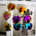 2017 new controlador de moda diseñador de la marca mujeres de los hombres gafas de sol de la vendimia gafas de sol gafas gafas de sol masculino