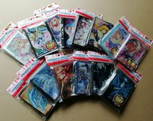 50 pcs/set Yu-Gi-Oh! Cosplay Yugioh Dark Magician Girl Anime Board Games Card Sleeves Card Barrier Card Protector 44 styles(China)
