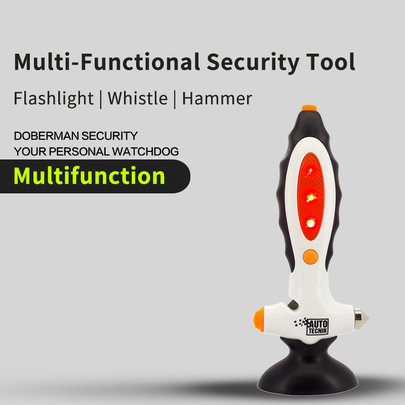 Security Multifunction Security Tool Car Escape Tools Glass Breaker Seat Belt Rescue Hammer Emergency Safety Car Tool