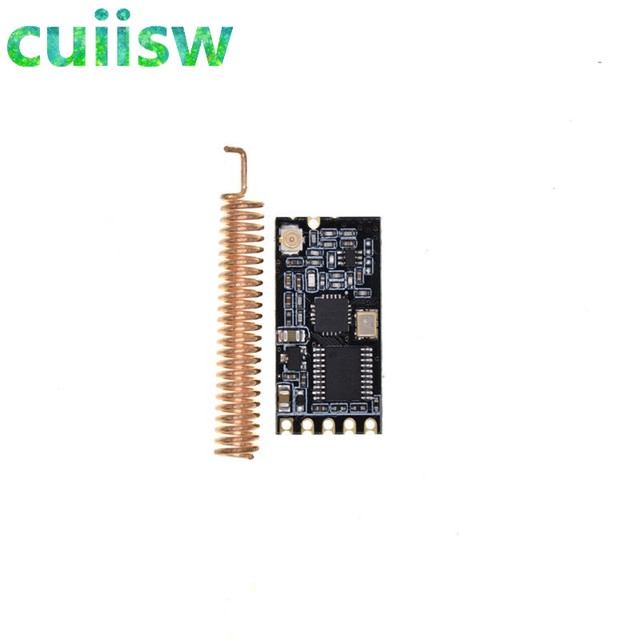 1pcs gt 38 si4438 4463 433m distance 1200 meters uart interface1pcs gt 38 si4438 4463 433m distance 1200 meters uart interface wireless single