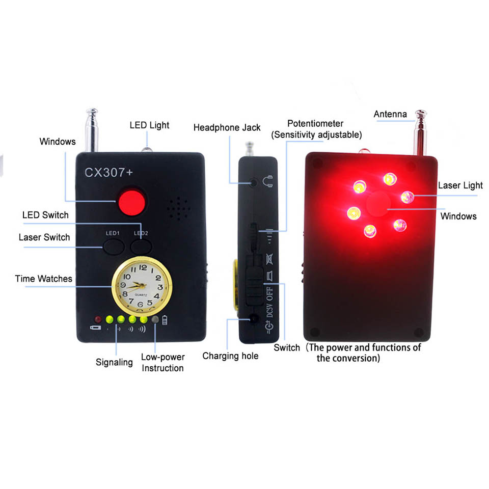 C307 spy detector 8