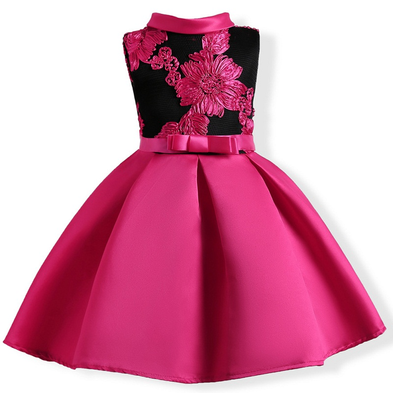 2017 spring summer autumn high-grade new style 2-9 years Girls Dresses children Net yarn Princess dress  Christmas party dress 2017 girls summer spring dress children adorable princess dress adolescent kid party dresses 6 7 8 9 10 11 12 years kids clothes