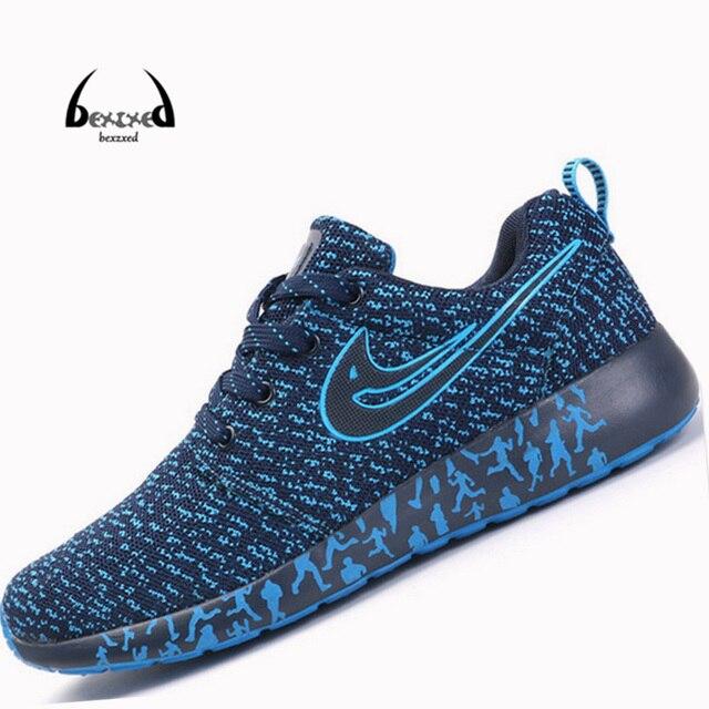 Мужская обувь 2016 Весна лето Сетки мужчин повседневная обувь Высокого качества Работает любовник обувь Mujer Zapatillas Deportivas Mujer