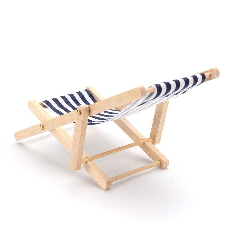 Carino Scala 1:12 Dollhouse Miniature Mobili Sedia a Sdraio Chaise ...
