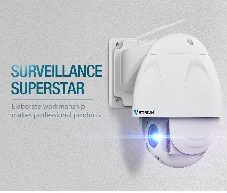 US $283 24  VStarcam C34S X4 1080P Full HD IP Camera,4times zooming,long  distance surveillance,2 0M FHD 1080P HD PTZ Onvif Network zoom-in
