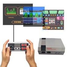 HDMI/AV Çıkışı Oyun Oyuncu Retro Mini TV El video oyunu Konsolu Için Nes Oyunları Dahili 500 Farklı Oyunları Için PAL ve NTSC