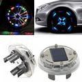 High Qrade 4 Modes 12 LED RGB Car Auto Solar Energy Flash Wheel Tire Rim Light for Auto Car Decoration Colorful Atmosphere Lamp