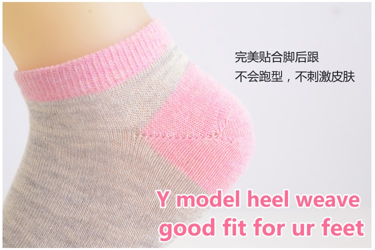 New Arrival short socks women harajuku Sock Casual Cute Ankle Low Cut Cotton Socks invisible chaussette femme 5pieces/lot 10