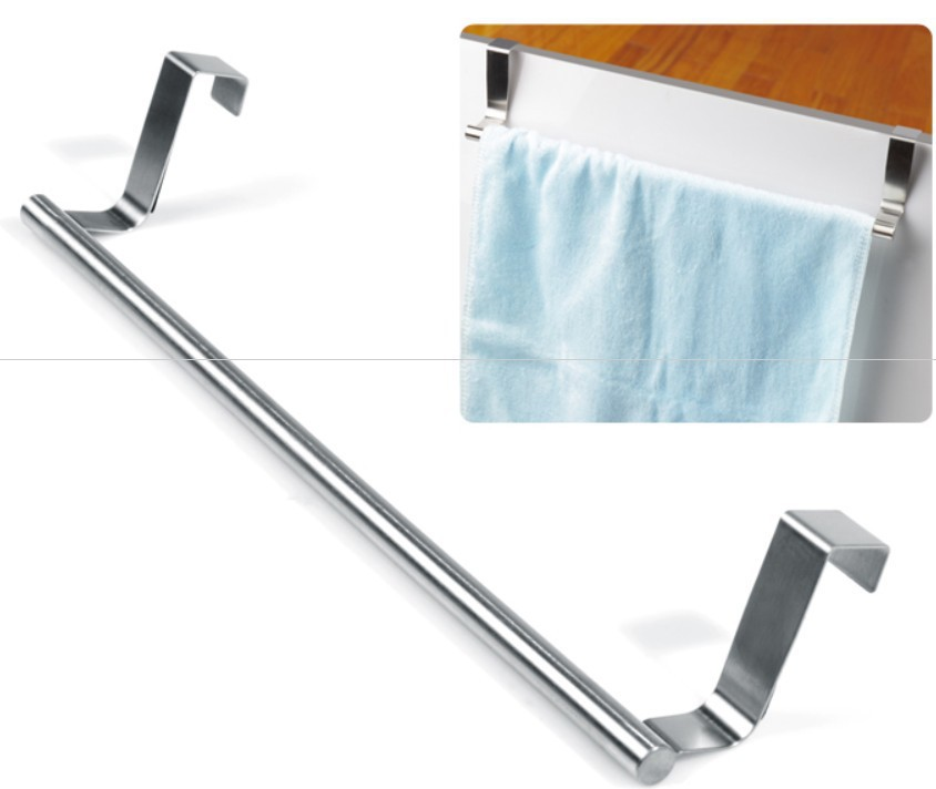 Awesome Trendy Back Door Mounted Iron Towel Storage Hang On White Wooden  With Oxo Over The Door Towel Rack