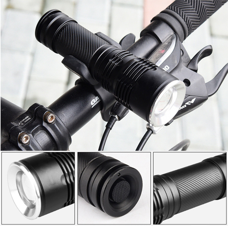 8000 Lumens LED CREE XM-L2/T6 Flashlight Tactical Flashlight Zoomable Torch Flash Light Lamp for 3*AAA/1*18650/1*26650 Battery led tactical flashlight 501b cree xm l2 t6 torch hunting rifle light led night light lighting 18650 battery charger box