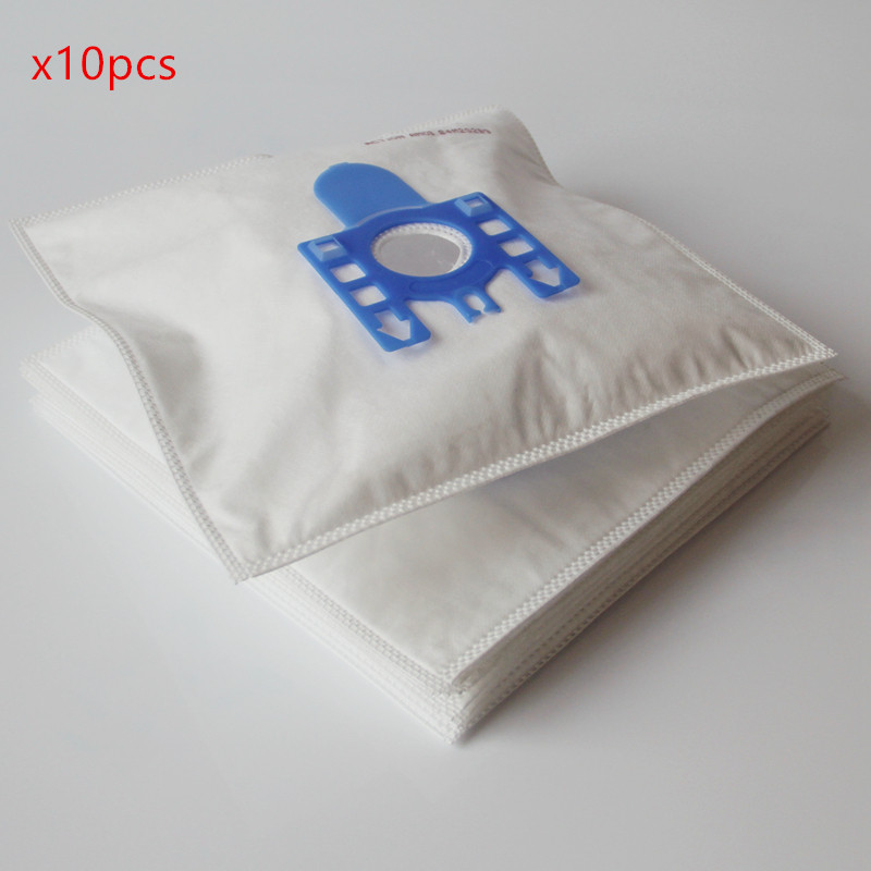 10Pcs/Lot DUST BAG For MIELE FJM Synthetic Type Hoover Hepa Vacuum Cleaner parts DUST BAGS replacement 10pcs lot fit for miele fjm c1