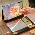 Coloffice 1PC Kawaii Cartoon Calendar 2018 Year Table Desktop Support Stationery Decorative Memo Pads Schedule Periodic Planner