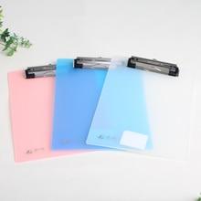 А6 Зажим Файл пластиковая доска и металлический зажим папка для документов жесткий и не сгибаемый