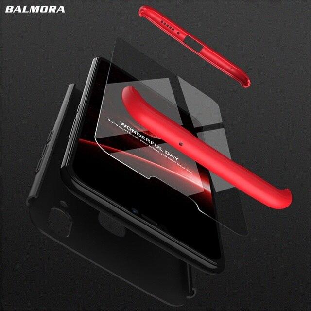 BALMORA 360 Full Protection Case For Huawei Honor 8 9 Lite 3...