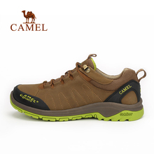 Camel camel for outdoor Men comfortable hiking shoes 2016 male breathable shock absorption hiking shoes waterproof climbing shoe
