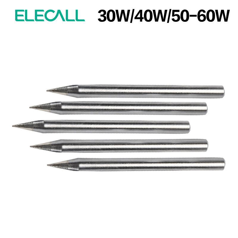 ELECALL Best Sale 30W 40W 60W Replacement Soldering Iron Tip Leader-Free Solder Tip