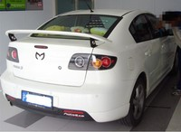 Auto Spoiler For Mazda 3 2003.2004.2005.2006.2007.2008.2009 High quality ABS Rear Wing Spoilers Car Accessories