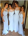 Cheap white Bridesmaid Dresses long 2017 Halter Neck Simple tulle Vestido De Festa De Casamento Maid of Honor Dress Maxi Dresses