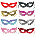 Sequins Sexy Cat Women Lady Girl Party Eye Mask Venetian Carnival Masquerade Half Face Masks