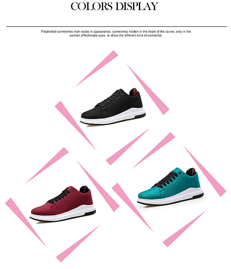 Stretch Fabric Casual Shoes Woman 2017 Fashion Spring Lace Up Ladies Shoes Breathable Women\'s Vulcanize Shoes Superstars ZD68 (10)