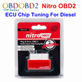 Red NitroOBD2 Chip Tuning Box For Diesel Cars Nitro OBD2 Find More Power More Torque Remap Auto ECU Plug & Drive Diagnostic Tool