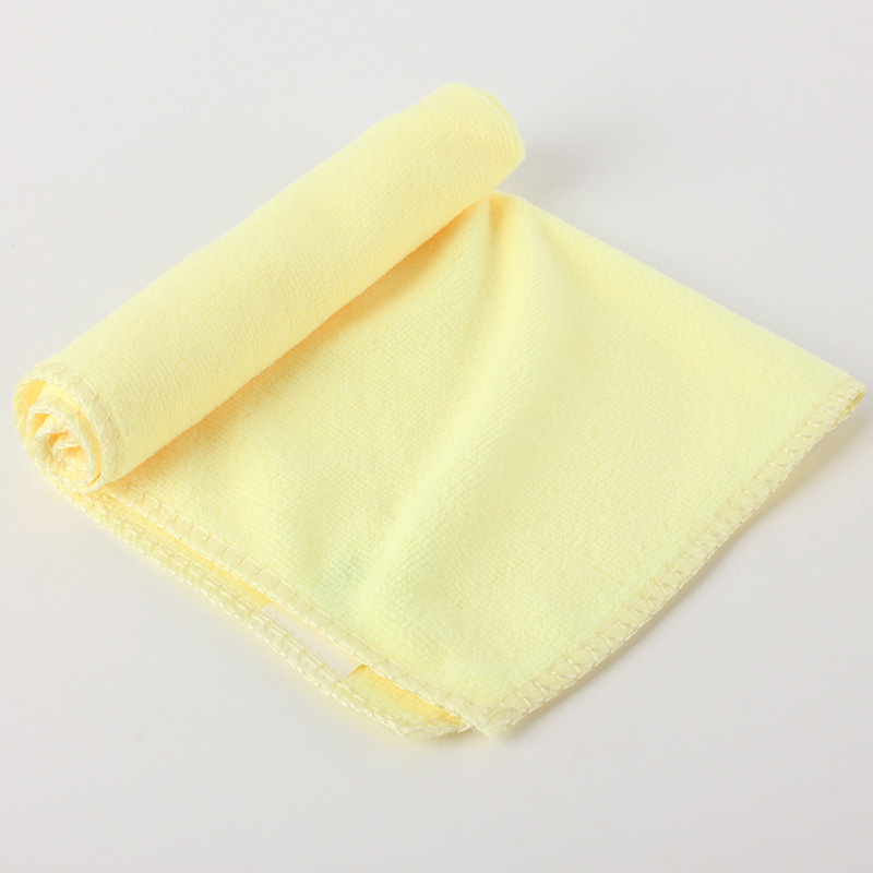 5Pcs Microfiber Kitchen Wash Auto Car Home Dry Polishing Cloth Cleaning Towel
