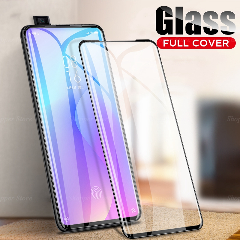 30D Full Cover For Xiaomi Redmi 7A K20 Pro Note 7 6 Screen Protector Tempered Glass Film For Xiaomi Redmi 7A Mi 9T Pro Mi9 Case