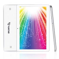K107 YUNTAB 10.1 pulgadas 3G tablet pc Android 5.1 quad core 1280*800 de doble cámara de 0.3MP $ NUMBER MP 1 GB + 16 GB de doble tarjeta SIM de la tableta (blanco)