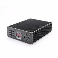 Новое поступление T25M 25 Вт черный Цвет FM стерео PLL передатчик для маленькой деревне вещания