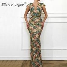 Ellen Morgan Elegant Mermaid Evening Party for Women 2019