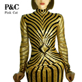 Women Long Bandage  Geometric Silver Sequins Dress  Long Sleeve Midi Dress Womens Sexy Dresses Party Night Club Dress