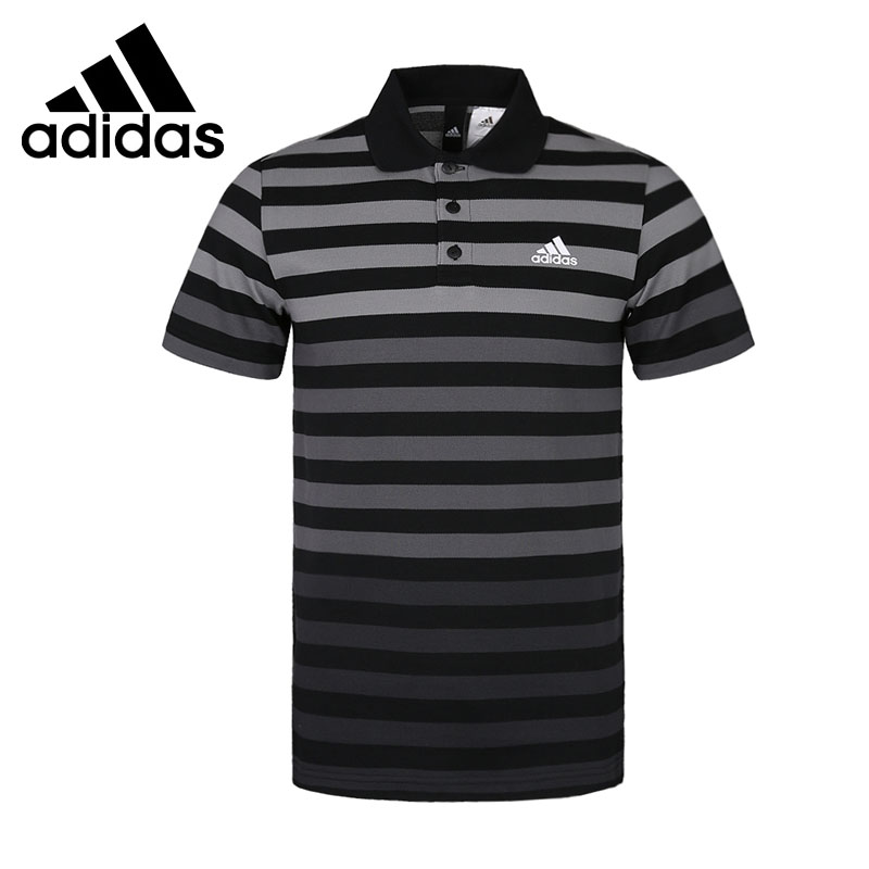Original New Arrival 2018 Adidas POLO YD STRIP Men's exercise POLO short sleeve Sportswear