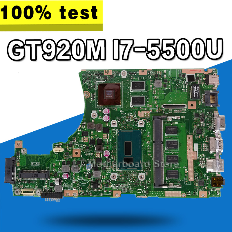 X455LJ motherboard For ASUS X455LJ X455LB X455LD A455L F455L K455L X454L Laptop mainboard 4G RAm Gt920M I7-5500U 90NB08M0-R0J000X455LJ motherboard For ASUS X455LJ X455LB X455LD A455L F455L K455L X454L Laptop mainboard 4G RAm Gt920M I7-5500U 90NB08M0-R0J000