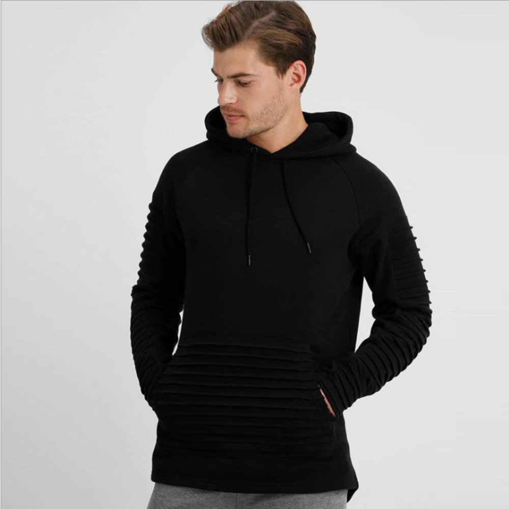 Outdoor sports Hoodie striped wrinkle  Sweater