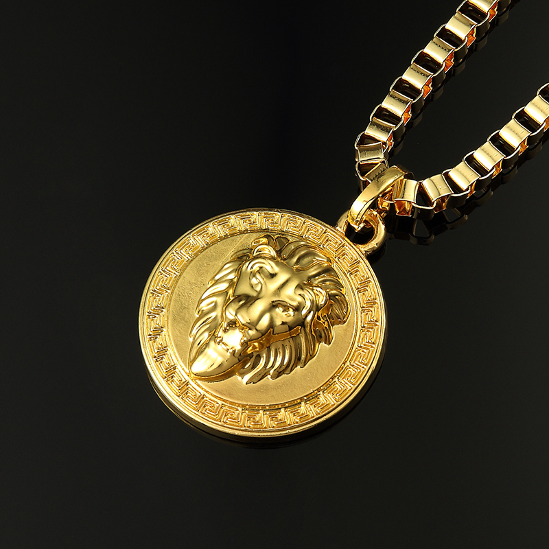 2015 new fashion lion head pendant necklace mens lion head necklace 2015 new fashion lion head pendant necklace mens lion head necklace 18k gold plated in pendant necklaces from jewelry accessories on aliexpress mozeypictures Image collections