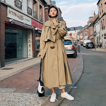Fashion women comfortable warm solid long coat new arrival good quality loose korean temperament outerwear holiday sweet trench(China)