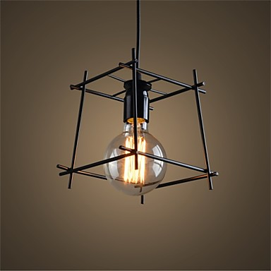 American Loft Style Iron Art Retro Droplight Edison Industrial Vintage Pendant Light Fixtures For Dining Room Bar Hanging Lamp retro loft style iron cage droplight industrial edison vintage pendant lamps dining room hanging light fixtures indoor lighting