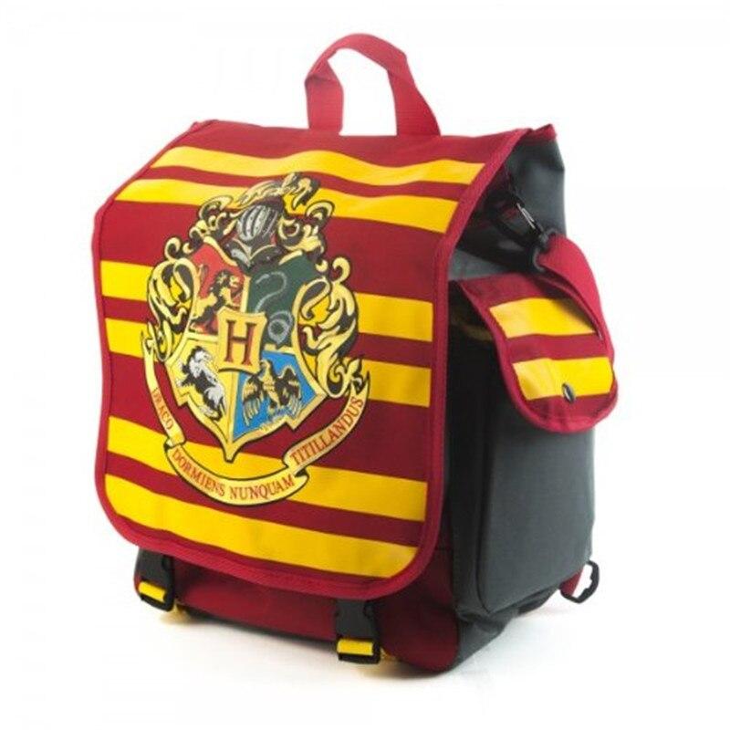Harry Potter Hybrid Hogwarts Backpack Messenger Laptop Bag Good Quality In Stock  Men's Double Shoulder bag Female backpack harry potter ollivanders dumbledore the elder wand in box prop replica