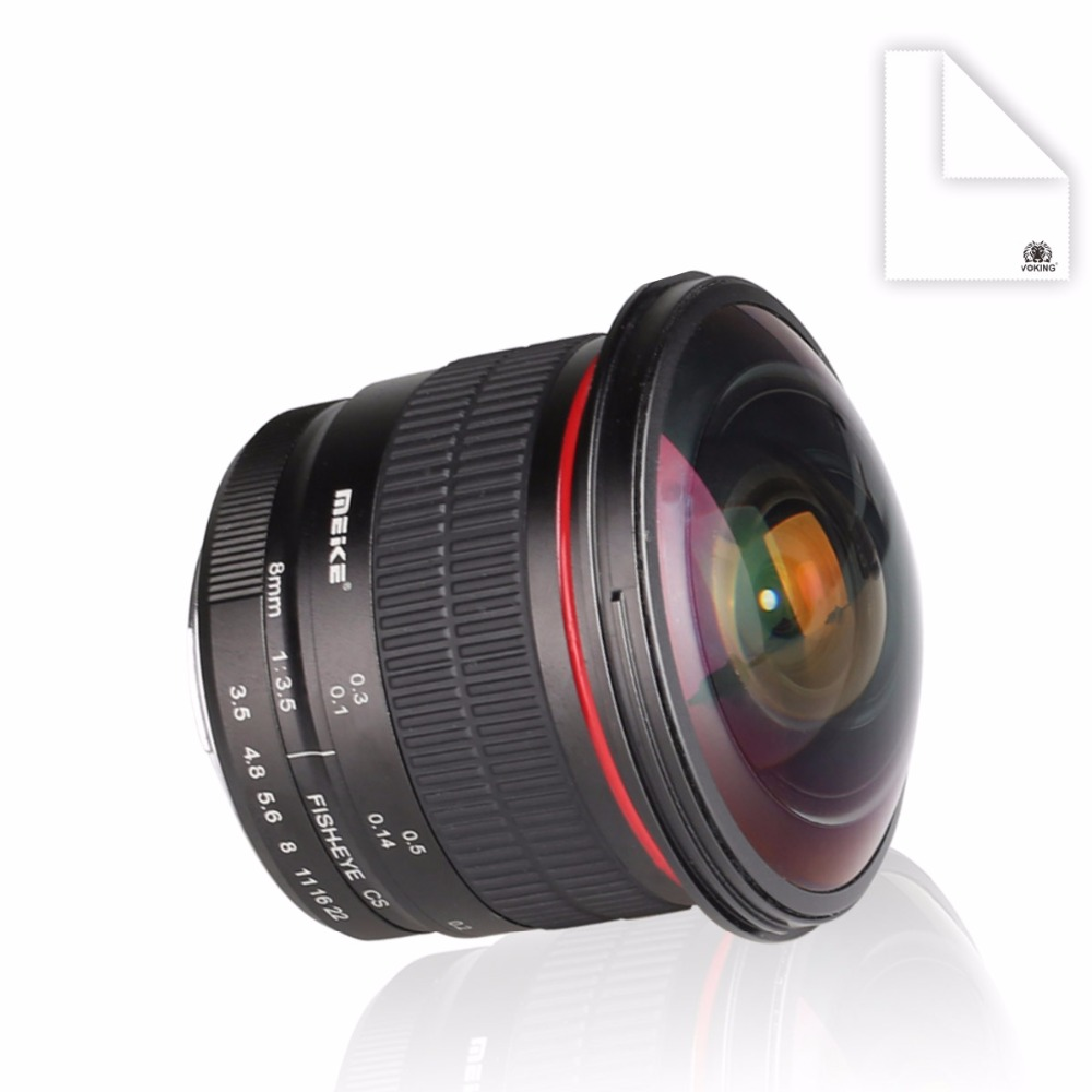 meike mk f 8 35 8mm f35 fisheye lens for nikon