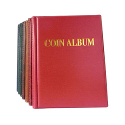 Coin Album 250 openings World coin stock collection protection album OEM  and banknote album