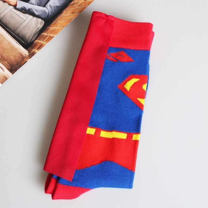Мужские носки ручной работы с персонажем и мыском модные весенне-летние акриловые носки для костюмированных танцев Бесплатная доставка