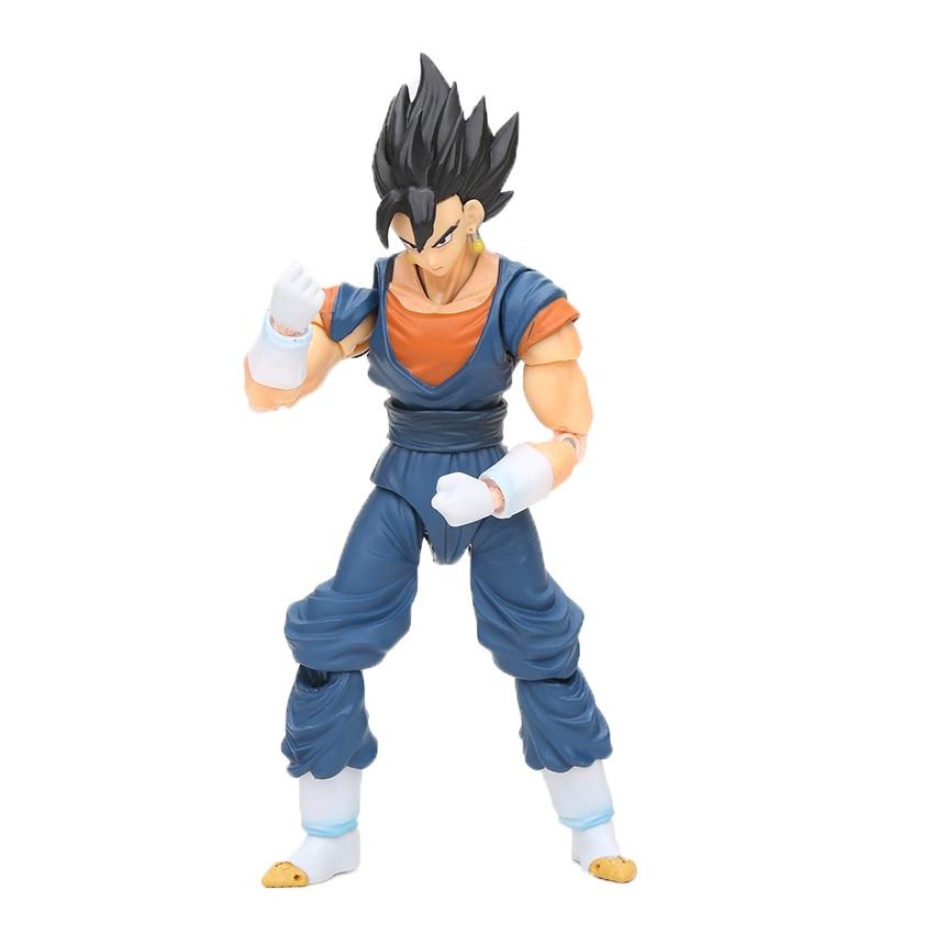 Dragon Ball Z Action Figure Gohan Goku Vegetto Vegeta Trunks Piccolo Freeza 18 with rotating joints 18