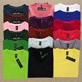 ¡ CALIENTE!! 2016 Nueva Ropa de Las Mujeres Camiseta de Otoño/Invierno Barato OL18colors V-cuello Delgado de Manga Larga Tops Camisa Básica caliente FreeShip