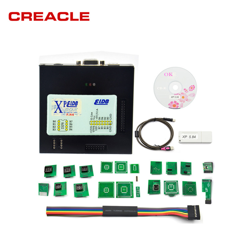 <font><b>XPROG</b></font> 5.84V5.55 V5.70 V5.72 V5.74 V5.75 V5.84 Black Metal Box Better tXPROG <font><b>M</b></font> V5.70ECU Programming Interface <font><b>Xprog</b></font>-<font><b>M</b></font> ship free image
