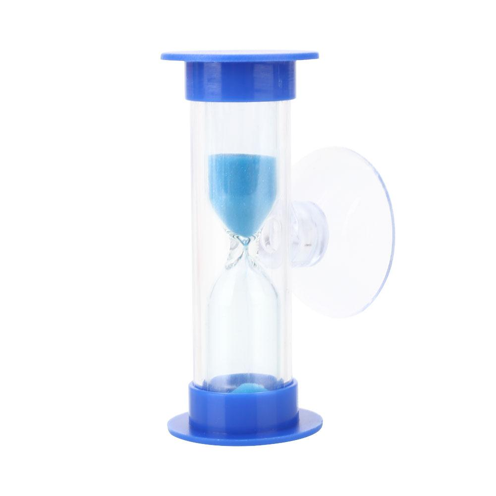 Bath Hardware Sets Bathroom Fixtures Hourglass Sand Clock Abs Shower Timer Toy Convenient With Sucker Practical Bathroom