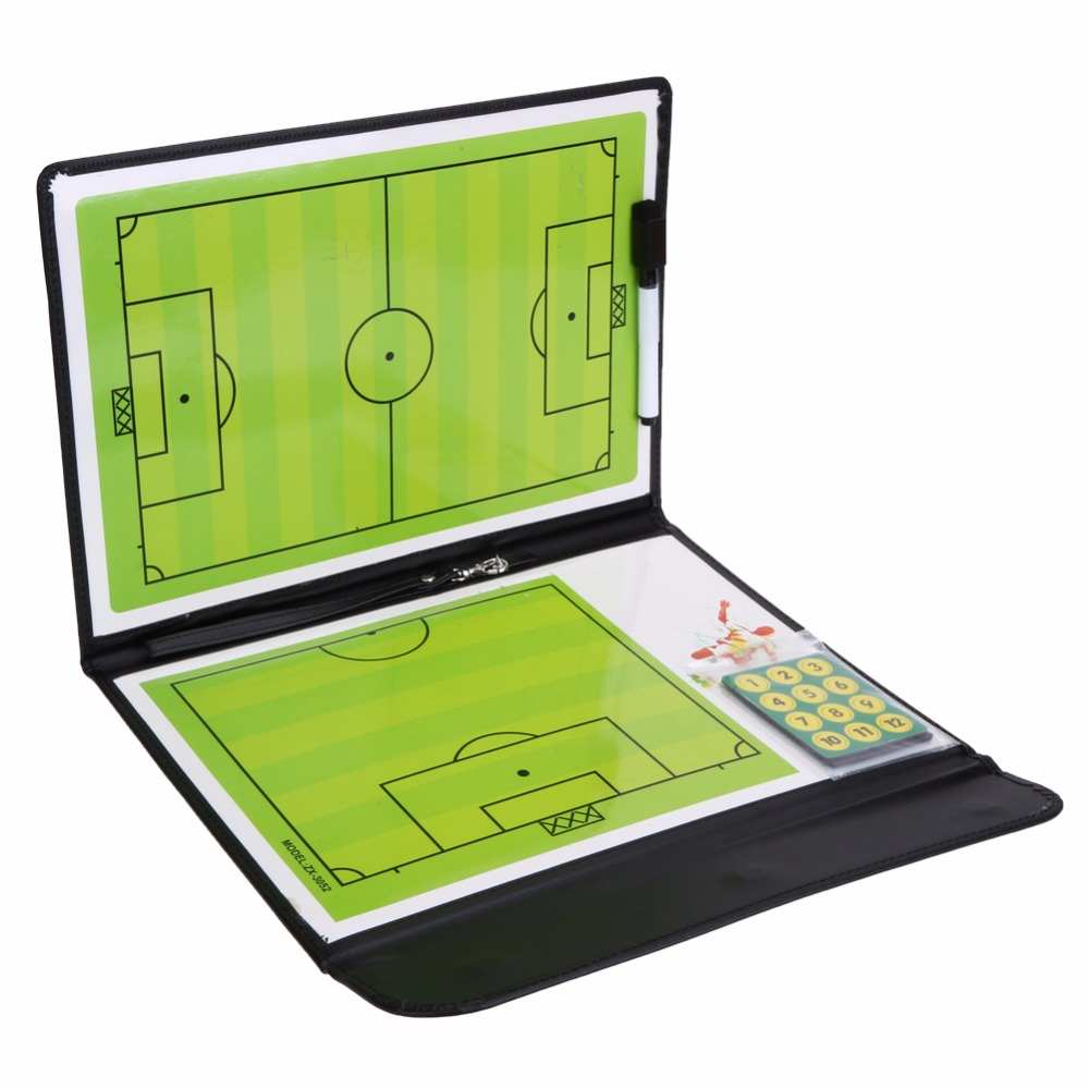 Magnetic Football Soccer Coaching Dry Erase Clipboard