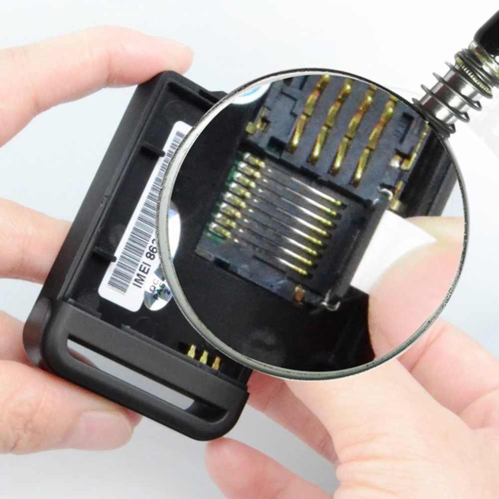 Мини-размер gps автомобили трекер прибор gps SMS GPRS SOS для IOS App с дистанционным управлением Встроенный датчик удара