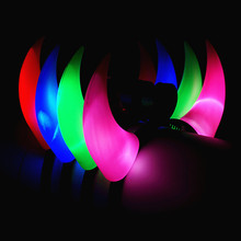 Glowing Horn Hair Hoop Party Headdress The Devil Horns Lights Opening Gifts Toys Wholesale Stalls