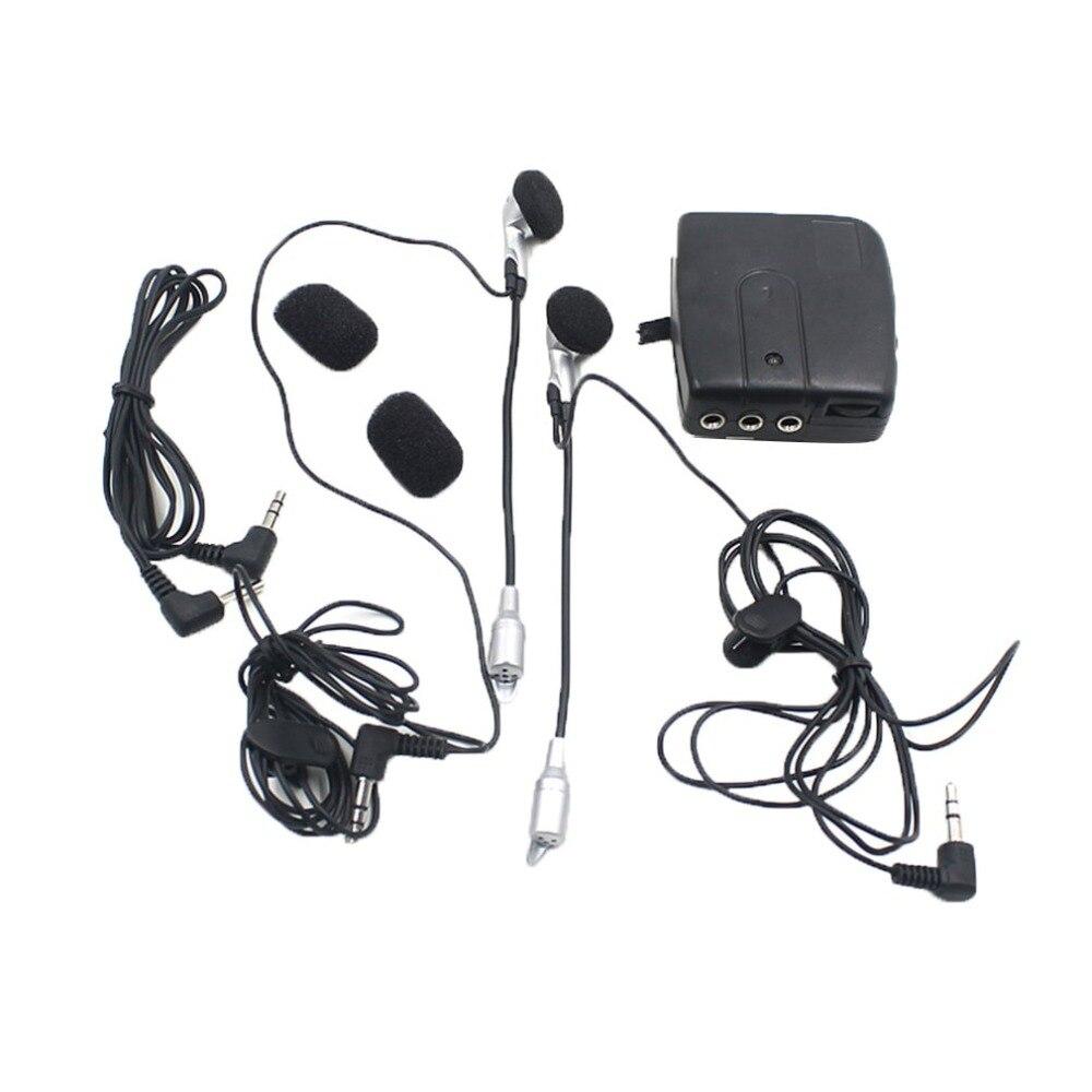 MP3 Motor Helmet Headset Modified Motorcycle Helmet Intercom Headphones Accessories 3.5mm Plug Diameter