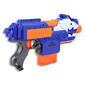 Image 3 - Jouet pistolet électrique pour garçons, balle souple, costume pour Nerf fléchettes, Blaster, fusil de Sniper, pour tirer en extérieur, modèle 2020